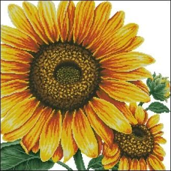 Sunflower Pillow из набора DOME